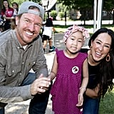 Chip and Joanna Gaines Build Playhouse For St. Jude