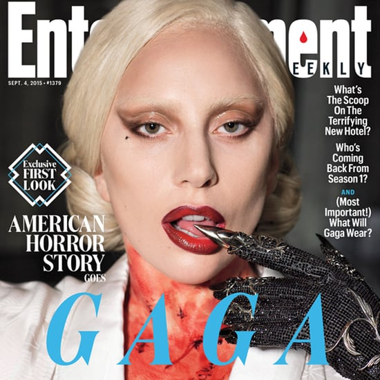 Lady Gaga's American Horror Story Entertainment Weekly Cover