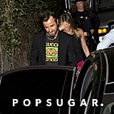 Justin Theroux Was Spotted Wearing the Black T-Shirt