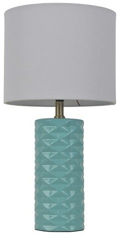 Room Essentials Faceted Ceramic Accent Table Lamp