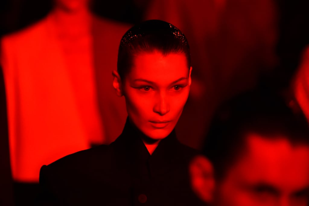 Bella Hadid Walking the Haider Ackermann Runway at Paris Fashion Week Womenswear Fall/Winter 2019/2020