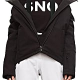Topshop Sno Gladiator Faux Fur Hood Puffer Jacket