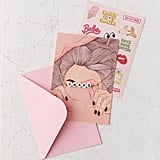 Letter Bracelet Greeting Card in Naps