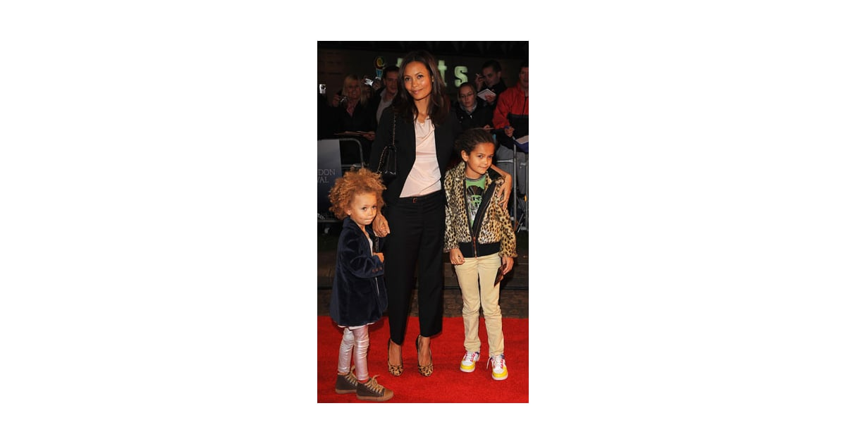 Celebaby Style Thandie Newton And Her Fashionable Mini Mes