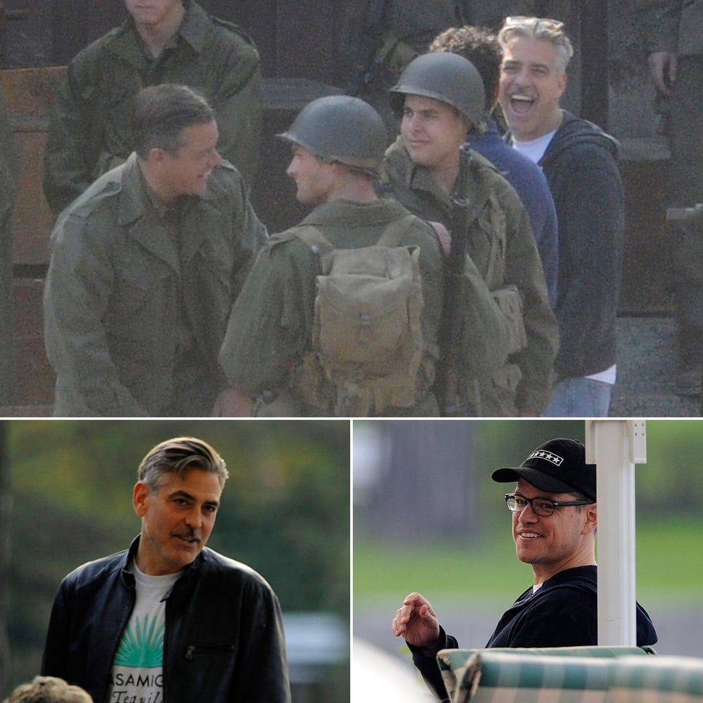 George Clooney Filming in Germany on His Birthday | Photos