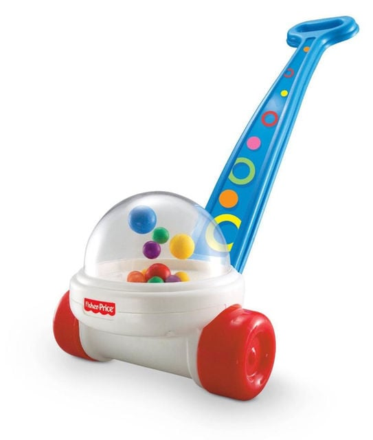 For Infants: Fisher-Price Brilliant Basics Corn Popper