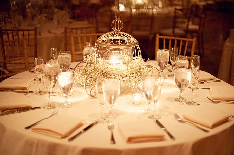 Cinderella-Inspired Centerpiece | Disney Wedding ...