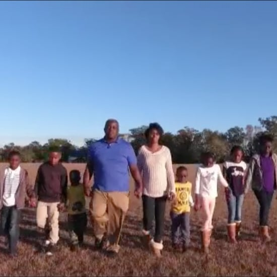 Family Adopts 7 Siblings Together
