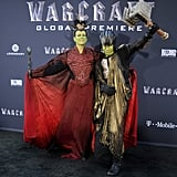 Jamie Lee Curtis and Son at Warcraft Movie Premiere 2016