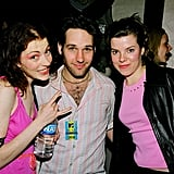 Paul Rudd linked up with Melissa Auf der Maur and Caroline Rue for a Sept. 1999 Hole concert in LA.