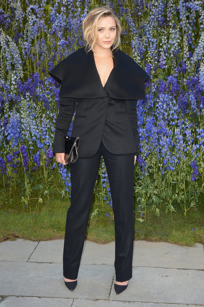 Like Christian Dior, Where She Wore This Cool, Structural 2-Piece Suit