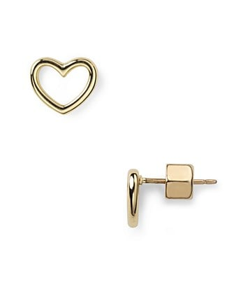 Marc by Marc Jacobs Heart Earrings ($38)