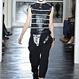 Jana K. walking the runway at Balenciaga made us stop and notice the androgynous moment that was happening in fashion.
