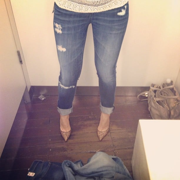 Ali thinks she may have found her perfect jeans with this Adriano Golschmeid pair!