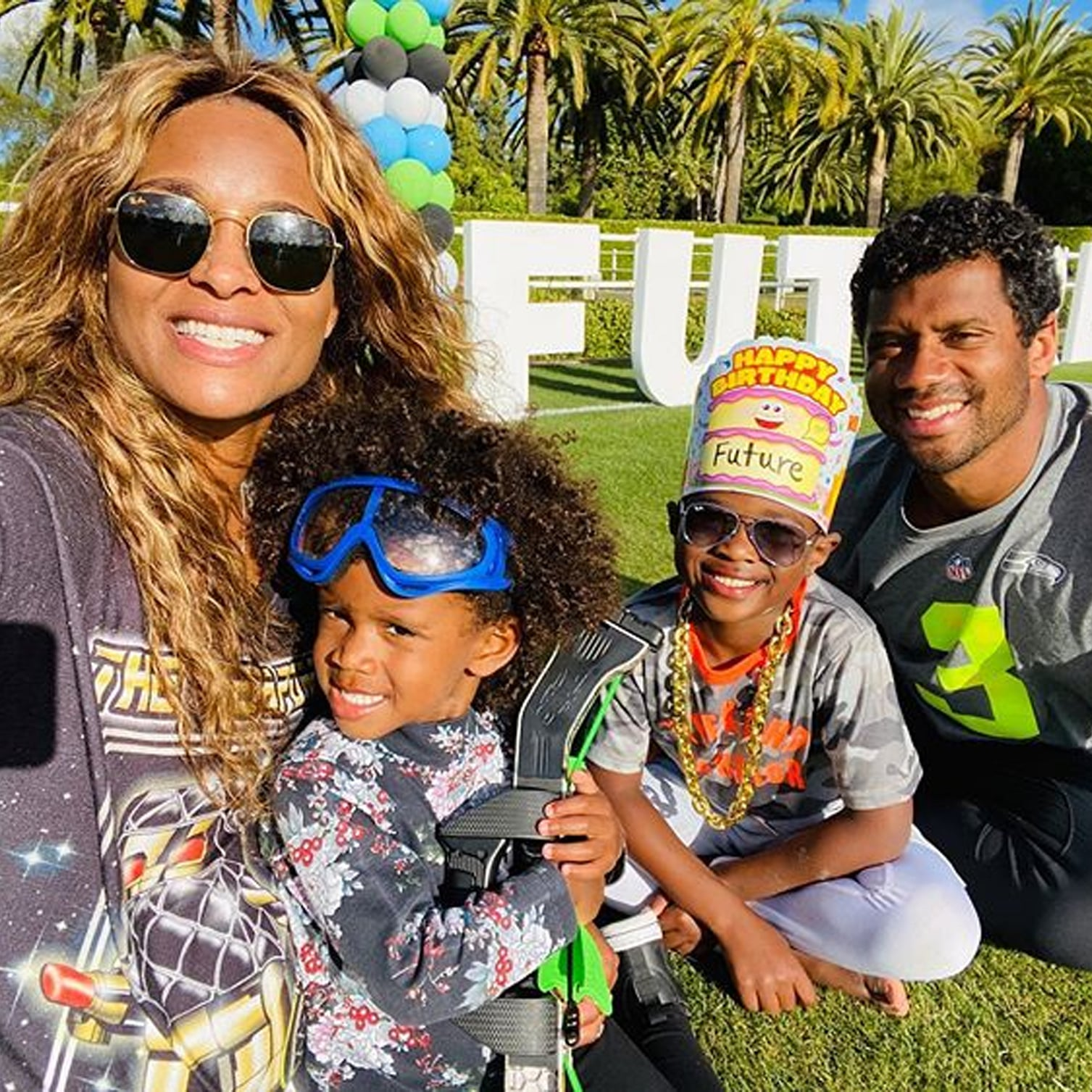 How Many Kids Do Ciara And Russell Wilson Have Popsugar Family