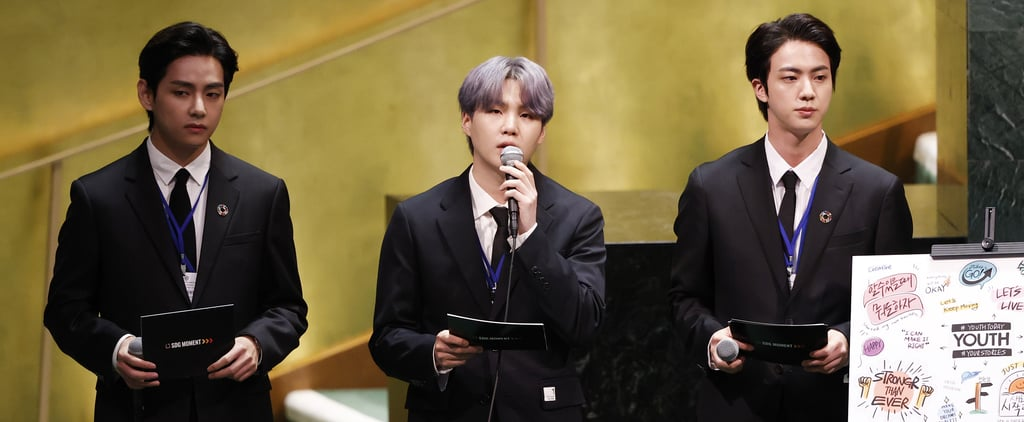 BTS Speak at the 2021 UN General Assembly Meeting   Video