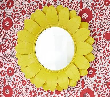 Margherita Missoni Yellow Daisy Mirror