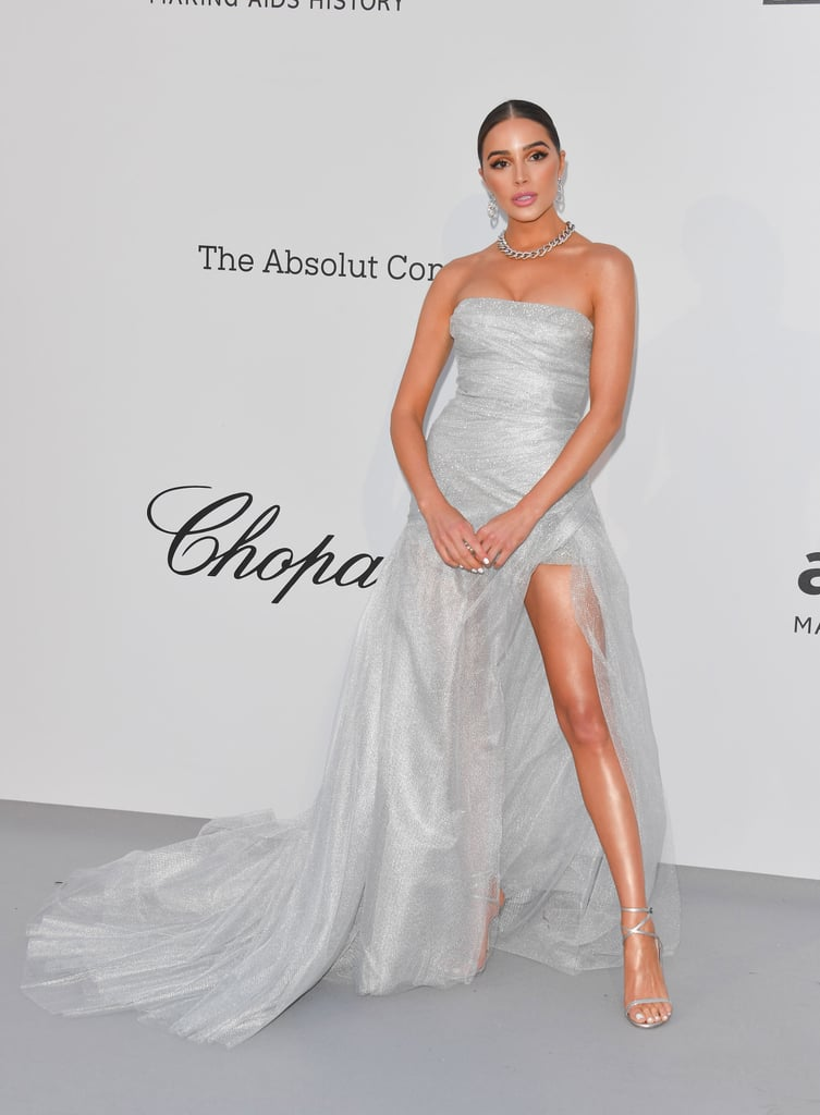 Olivia Culpo at the amfAR Cannes Gala