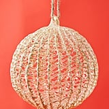 Gold Spun Glass Ornament