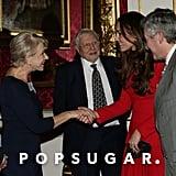 Kate Middleton met with Helen Mirren.