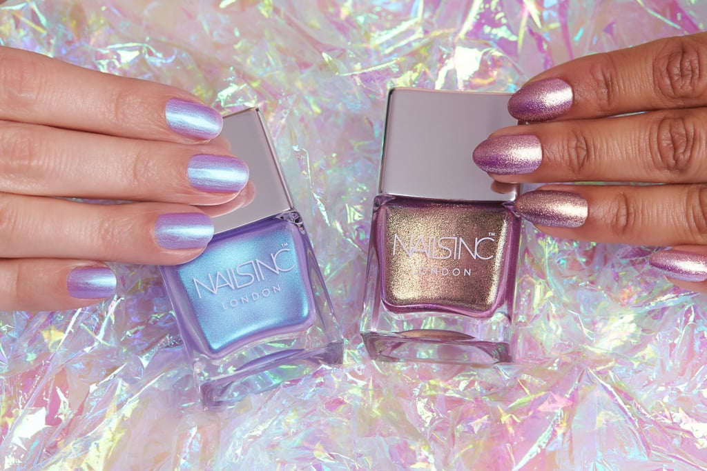Nails Inc Sparkle Like A Unicorn Nail Polish Duo Popsugar Beauty Uk