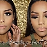 Brown Smoky-Eye Fall-Look Tutorial