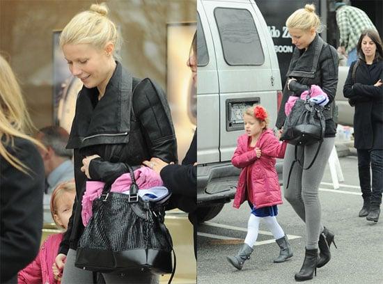 Photos of Gwyneth and Apple