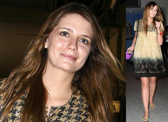Photos Of Mischa Barton Arriving In New York To Work On New TV Series The Beautiful Life After Being Released From Hospital