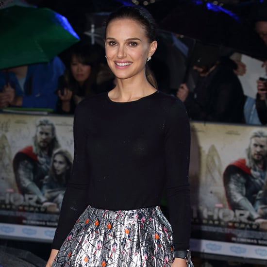 Natalie Portman Thor Red Carpet Dress