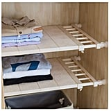 Apsoonsell Adjustable Shelf Closet Storage Rack Organizer