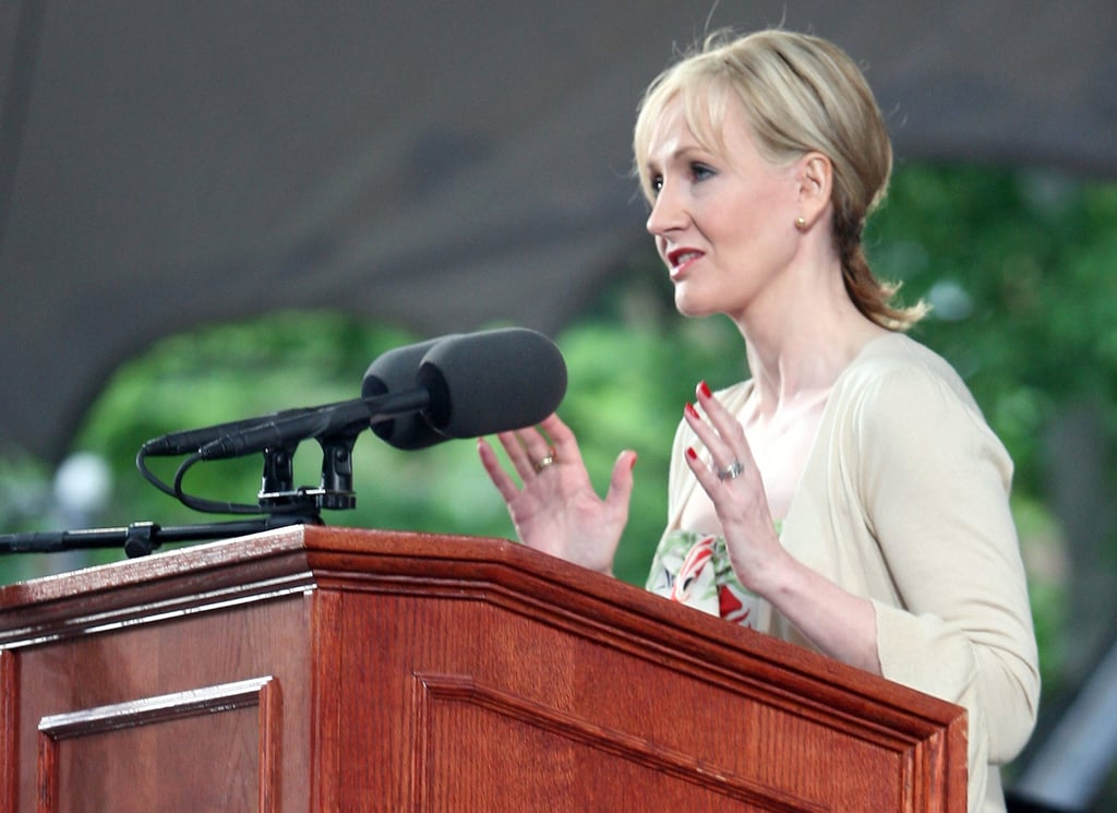 """""""Some failure in life is inevitable. It is impossible to live without failing at something, unless you live so cautiously that you might as well not have lived at all — in which case, you failed by default."""" — J.K. Rowling at Harvard (2008)"""