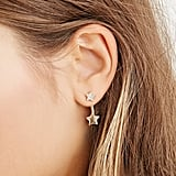 Rhinestone Star Ear Jackets