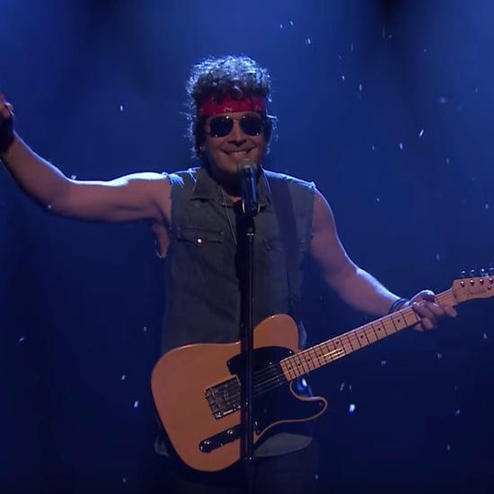 Jimmy Fallon Sings Robert Mueller Song as Bruce Springsteen
