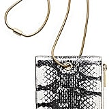 Calvin Klein Womens Snake Smartphone Holder With Snake Chain Cream ($595)