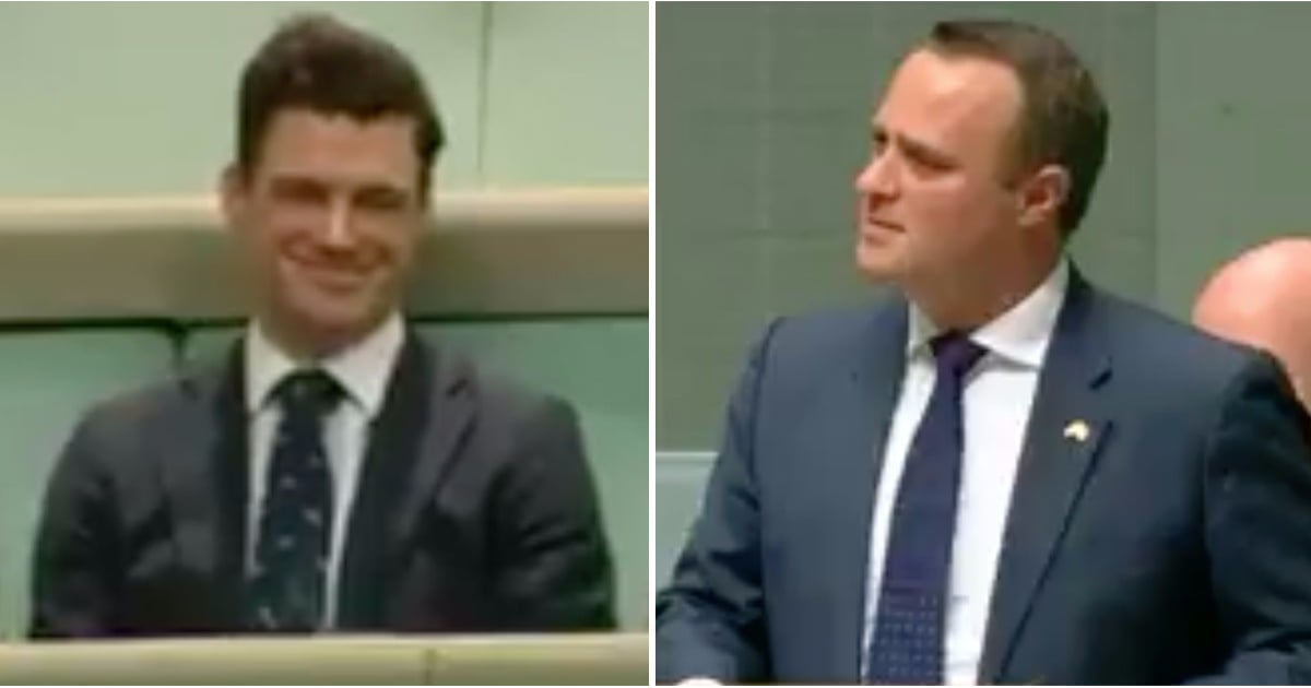 POPSUGARNewsPoliticsAustralian Parliament Member Proposes to Boyfriend in SpeechAn Australian Politician Paused His Speech Celebrating Same-Sex Marriage — to ProposeDecember 9, 2017 by Ryan Roschke89 SharesChat with us on Facebook Messenger. Learn what's trending across POPSUGAR.Liberal MP @timwilsoncomau proposed to his partner Ryan during his same-sex marriage speech to the House of Reps. He said YES! pic.twitter.com/of9N21WYMh— Alice Workman (@workmanalice) December 4, 2017On Dec. 4, Tim Wilson — a liberal member of Australian Parliament — proposed to his partner, Ryan Bolger. The moment, which was captured on video, occurred shortly after the country's same-sex marriage bill was introduced to the House of Representatives. According to a report from the Australian Broadcast Company, the couple had been unofficially