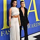 Kourtney Kardashian Embellished Suit CFDA Awards 2018