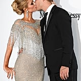 Paris Hilton and Chris Zylka kissed like nobody was watching at the amfAR Gala in 2017.