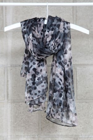 """The delicate """"droplets"""" reminds us of Jason Wu's Spring '12 collection. Mikkat Market Silk Scarf 17 ($44)"""