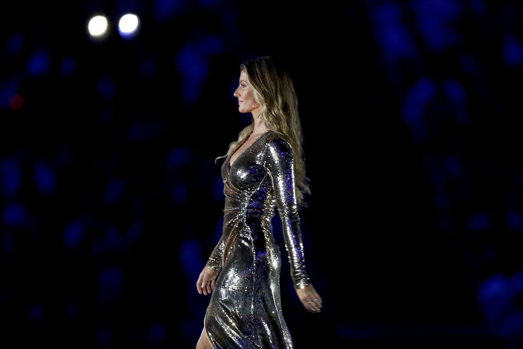 Gisele's Dress at the Olympics Opening Ceremony in Rio 2016