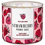 Bath and Body Works Strawberry Pound Cake 3-Wick Candle