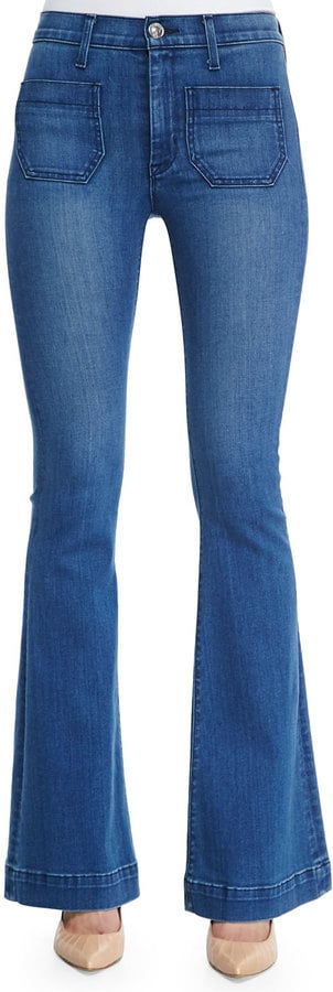 Hudson High-Rise Front Pocket Flared Jeans ($209)