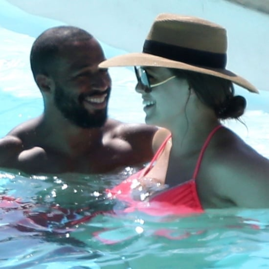 Ashley Graham and Husband Justin Ervin in Italy July 2018