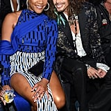 Tiffany Haddish and Steven Tyler