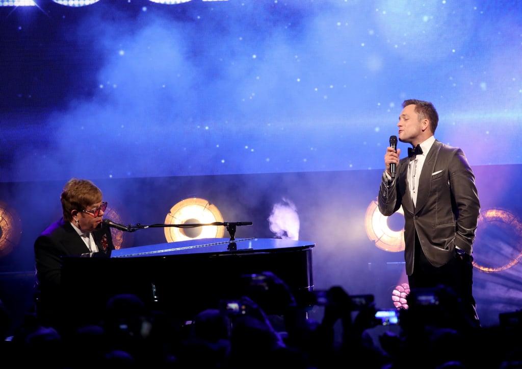 "Elton John and Taron Egerton Singing ""Rocketman"" at Cannes"