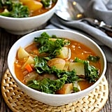 Easy Vegetarian Recipe: Vegan Potato Soup With Beans and Kale