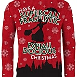 Mary Poppins: Have a Supercalifragilisticexpialidocious Christmas Knitted Sweater