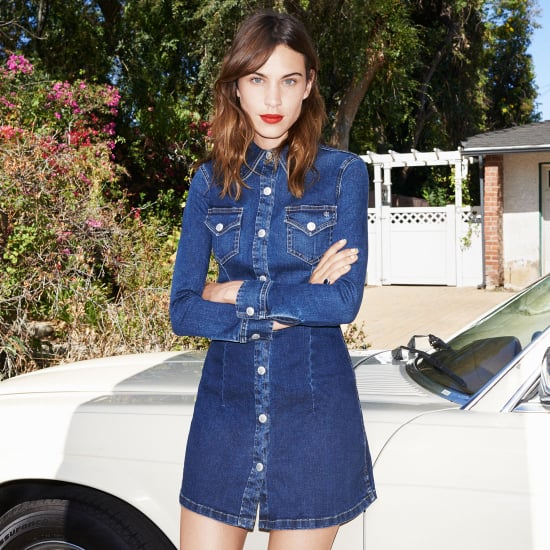 Alexa Chung For AG Jeans Collection