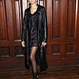 Zendaya at the Marc Jacobs New York Fashion Week Show