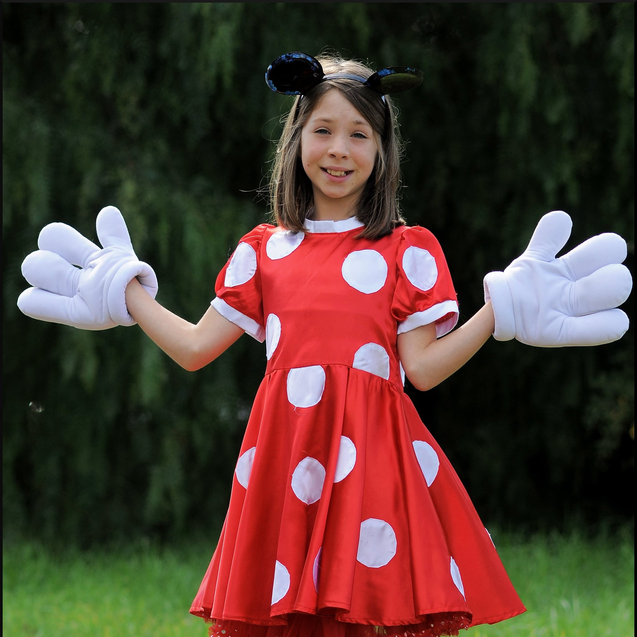 Toddler Minnie Roadster Disney Halloween Costume