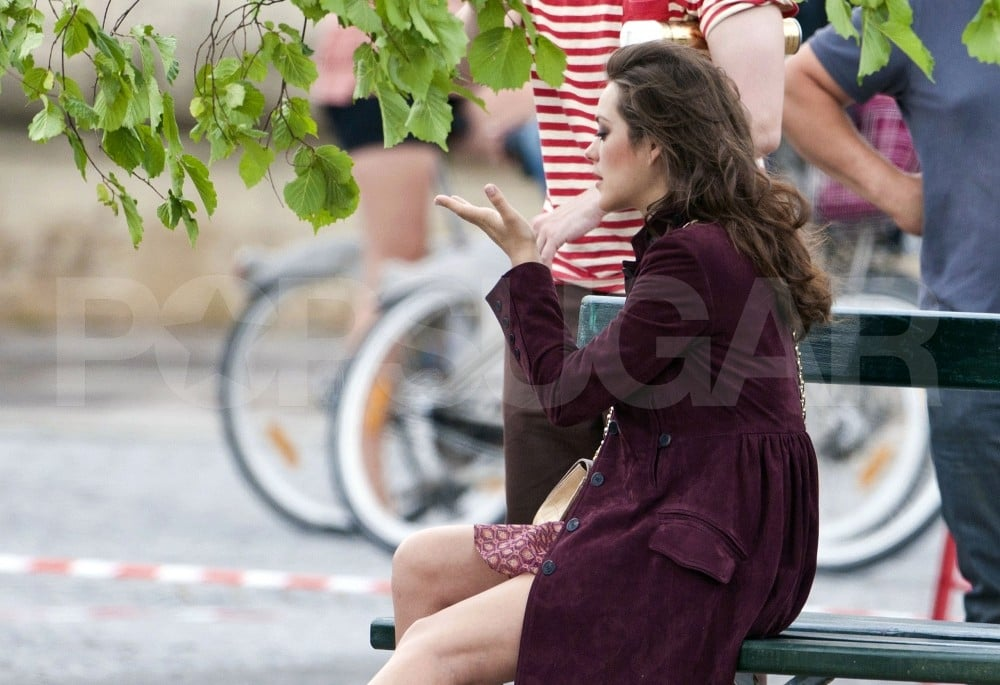 Marion Cotillard Films For Dior Two Weeks After Welcoming Baby Marcel!